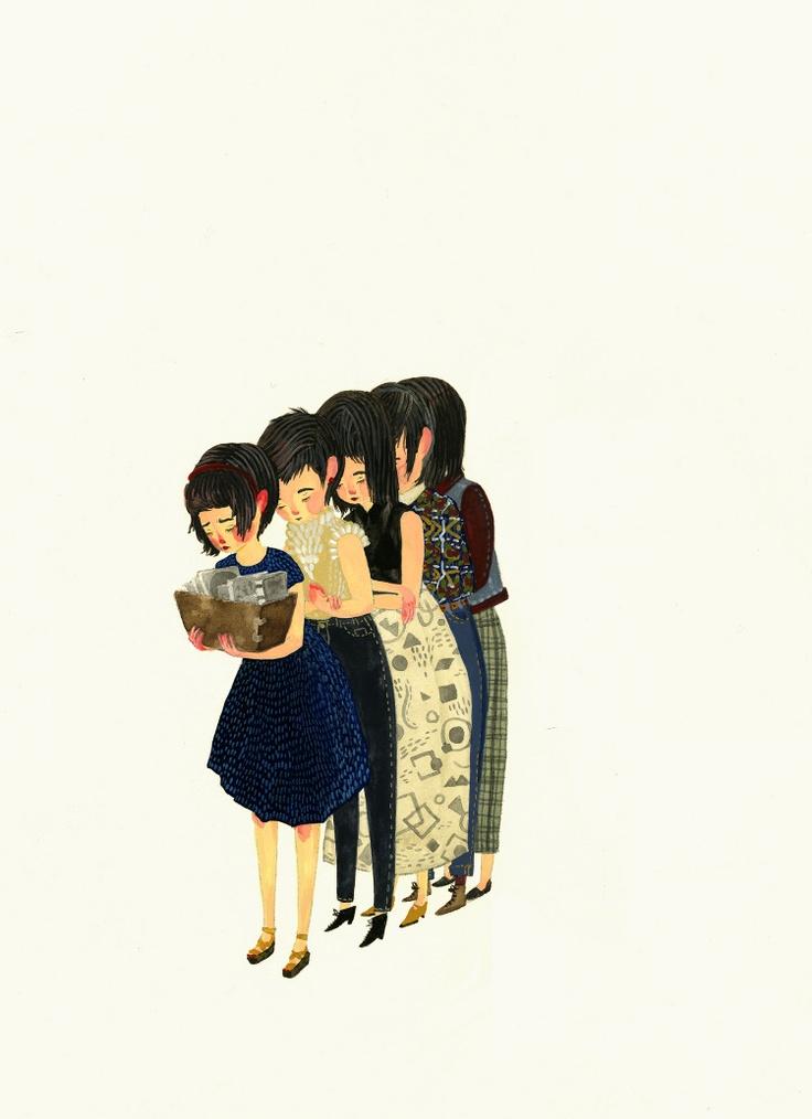 In the Summertime - Jensine Eckwall: Illustration