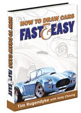 How to draw cars fast.
