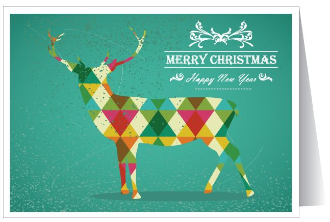 20 best stylish christmas greeting cards images on pinterest deer christmas card m4hsunfo