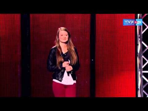 "The Voice of Poland - Alicja Wasita - ""Skinny Love"""