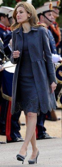 Colors of Royalty —> Blue 4/7 Princess Letizia