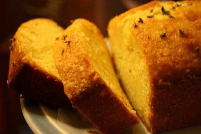 Lemon Thyme Cakes With Lemon Vodka Syrup Recipes — Dishmaps