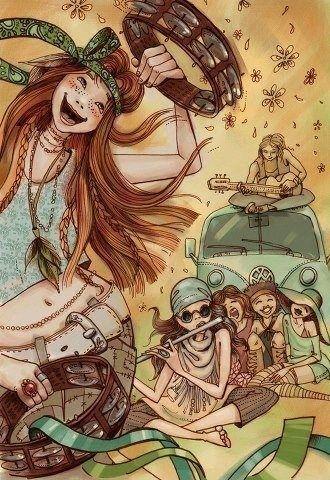 Happy hippies :) via | Hippies Hope Shop | www.hippieshope.com