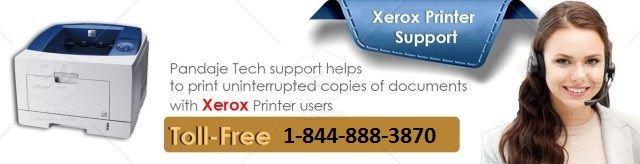 All You Need To Do Is Just Make A Call On Xerox Printer Customer