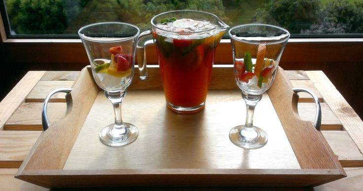 Pimms Iced tea - Infusing a little Americana into a classic British cocktail