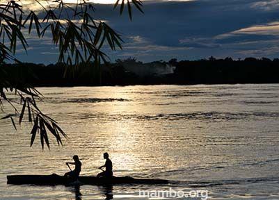 Remando en el rio Vaupés, Colombia. #Viajes   Descubre la Colombia profunda con Mambe.org!