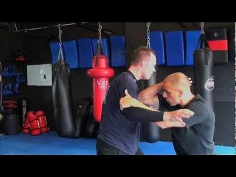 Peter Sciarra teaching Close Quarter Combat techniques. Defence against punches,pre-emptive and clinch tactics. www.learn-ics.com