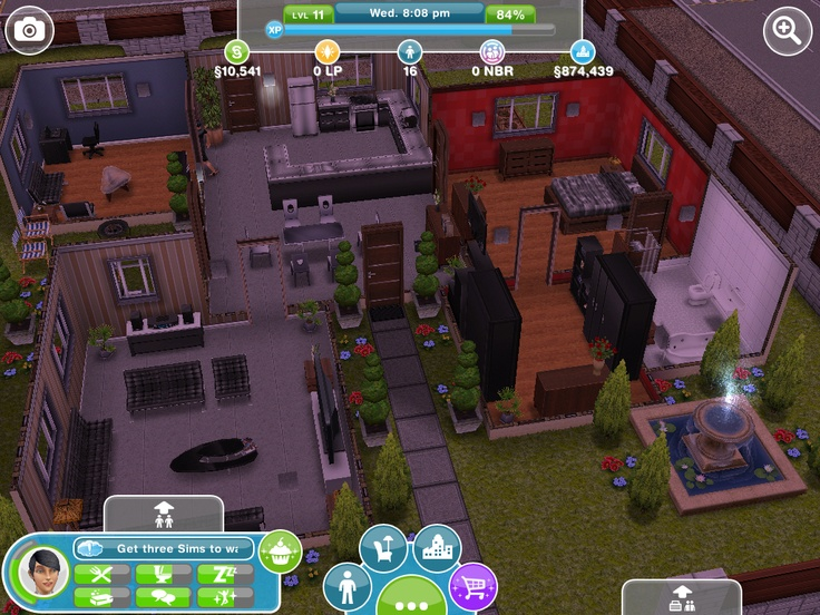 Awesome house sims freeplay pinterest nice houses for Awesome sims