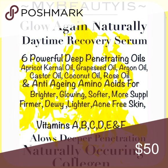 ONLY DAYS AWAY PEEPERS ❣SOME OF U R GETTING FREE❣ DAY AND NIGHT MOISTURIZER NOT LIKE ANYTHING ON The MARKET, READ THE LABEL! Has 7 OILS COMES WITH A HEADBAND TO WEAR WHILE THE OILS SOAK IN❣ 10 MINUTES ABOUT WILL COMPLETELY ABSORB DEEP PAST THE DERMIS LAYER OF SKIN INTO THE EPIDERMIS ❣. MyBeautyIs LITERALLY FORCES YOUR SKIN TO PRODUCE COLLAGEN ❣ YOUR SKIN WILL FEEL TRANSFORMED, From a 🐛 to a 🦋.   OVER 6 ALMOST 7 YEARS TO PRODUCE THE ENTIRE LINE OF PRODUCT WHICH I NEED TO SELL PRODUCTS 1&2…