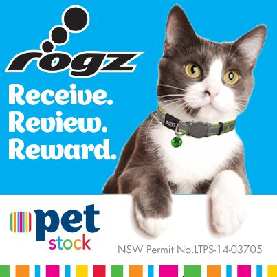 These fabulous ROGZ cat collars were a favourite with our Facebook fans, read the reviews here!