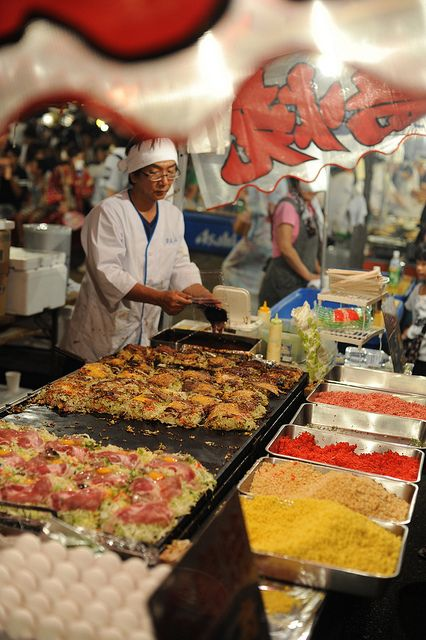 Food Stall in Japan