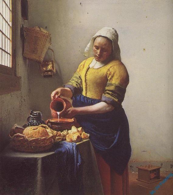 VERMEER009 – Classic Art Paintings