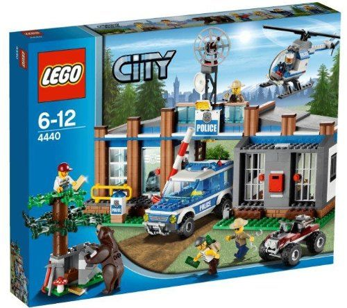 LEGO City – Estación de Policía Forestal (4440) | Your #1 Source for Toys and Games