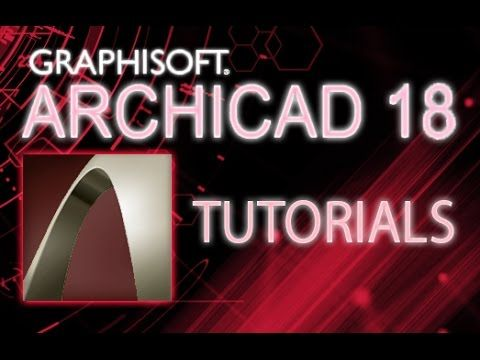 ArchiCAD 18 - Tutorial for Beginners [COMPLETE]* - YouTube