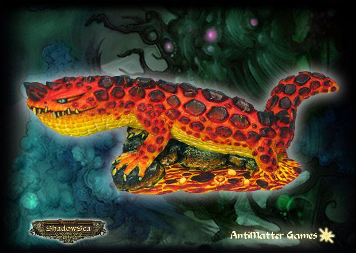 Sunless Kingdom - Lava Lizard