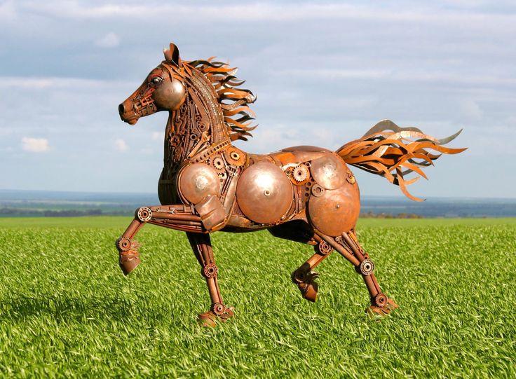"""Red Thunder"" - Jordan Sprigg Sculptures"