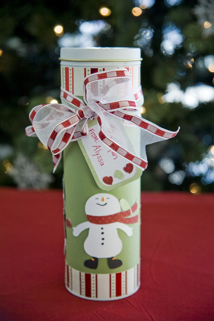 Snowman Gift Tin