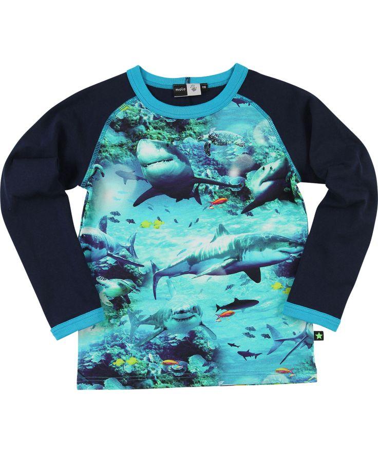 Formidable T-shirt 'requins' par Molo #emilea