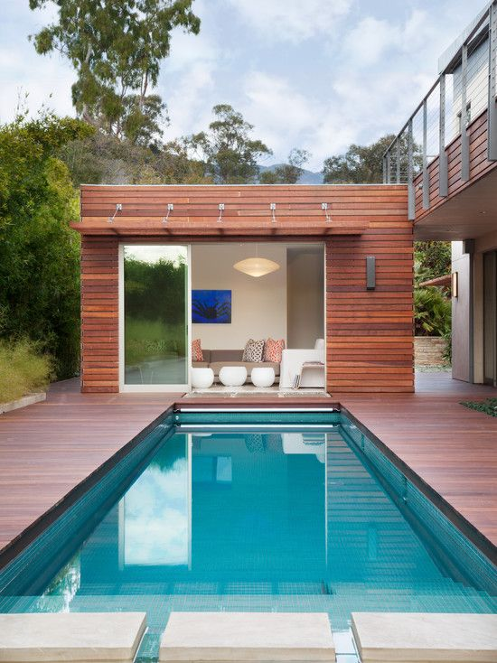 Guest House | Contemporary Architecture | Pool Designs | Modern Backyard Ideas