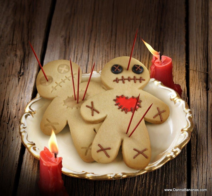 Perfect for the voodoo lover: http://www.dannabananas.com/festivities/valentines-day/cursed-cookies.html