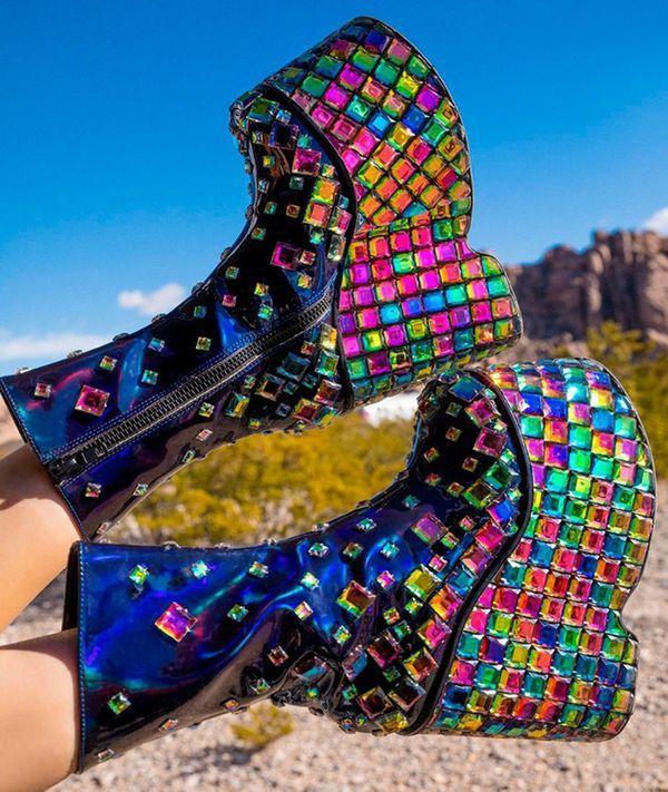 Technopagan Boots (com imagens) | Sapatos para garotas