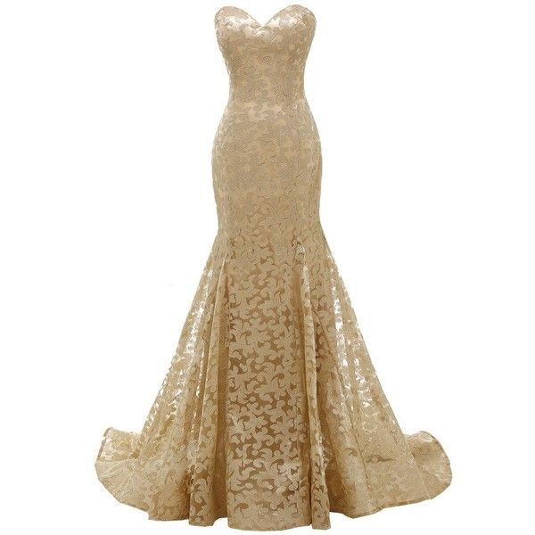1000 ideas about brown lace dresses on pinterest for Brown lace wedding dress