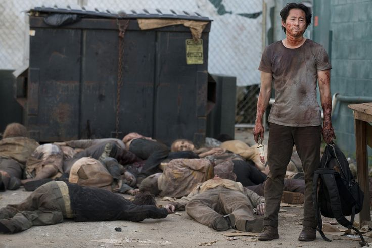 Why We're More Confident Than Ever That Glenn Is Going to Die in The Walking Dead's Season Finale