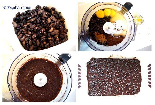 Siyah Fasulyeli Brownie; Siyah fasulye ile Brownie yaptık, hem çook kolay hem de süper lezzetli, deneme listesinde olması gereken türden :)
