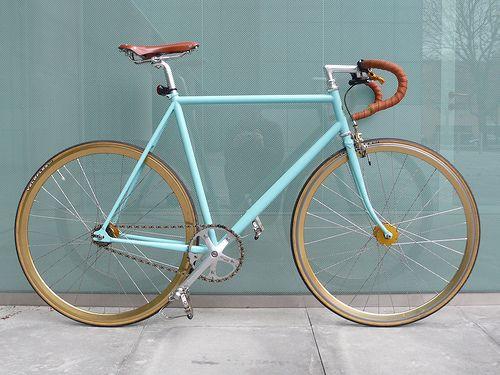 Custom Bianchi Pista — My Ride | Flickr - Photo Sharing!