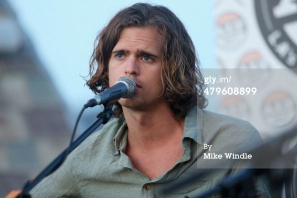 News Photo : Dylan Kongos of the band Kongos performs onstage...