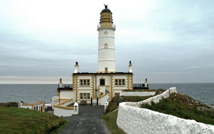 """Das """"Corsewall Lighthouse Hotel"""", Schottland 2008"""