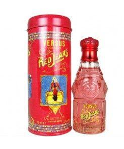 Versace Versus Red Jeans for Women Eau De Toilette Spray, 2.5 Ounce