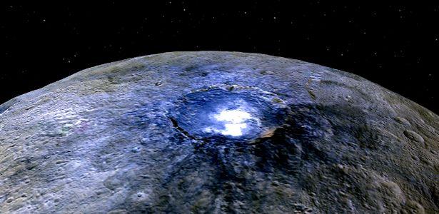Cientistas desvendam 'maior mistério do Sistema Solar' em 2015: as manchas de Ceres