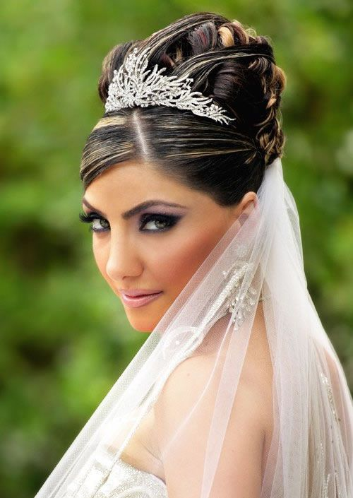 Wedding hairstyles; find the perfect wedding hairstyles for your hair length. Bride wedding hairstyle ideas every lady must try on their wedding