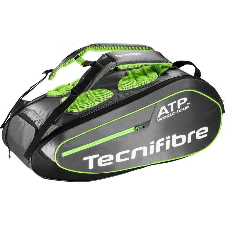 Tecnifibre Tour ATP Tennis Bag – 9 Pack, Gray