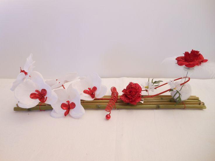 17 meilleures id es propos de centres de bambou sur for Decoration de table zen bambou