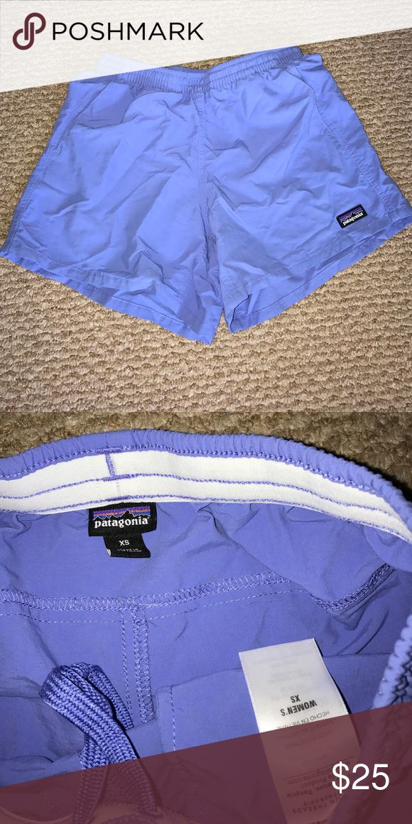 Patagonia Baggies Periwinkle Patagonia baggies shorts, only worn a handful of times Patagonia Shorts