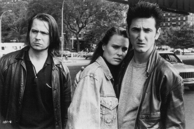 Still of Gary Oldman, Sean Penn and Robin Wright in State of Grace (1990)