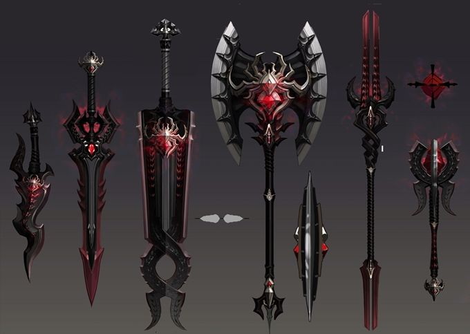 Aion 2.7: Eternal Crucible PVP Arena Set - The Art of Aion Online
