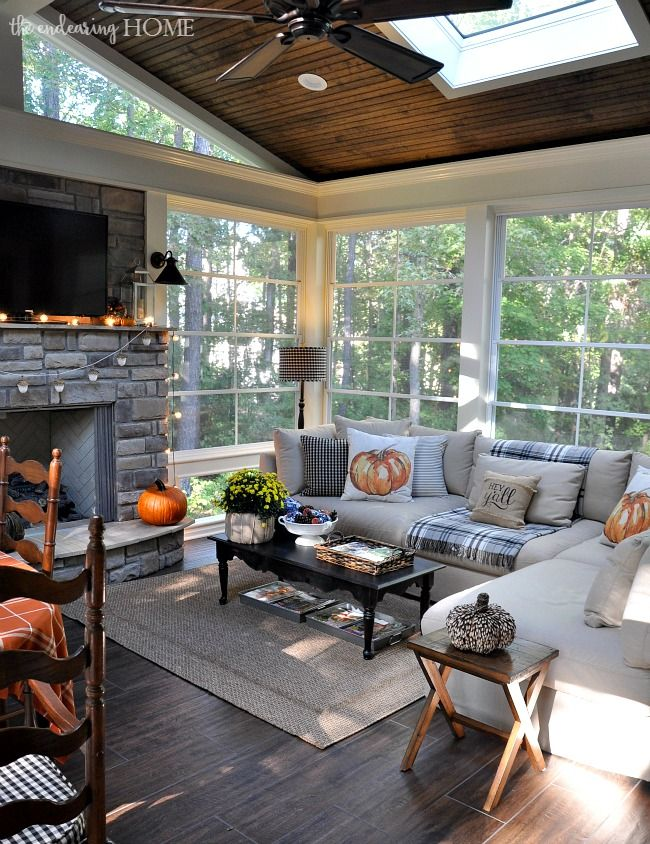 Fall 2015 Porch Tour   The Endearing Home