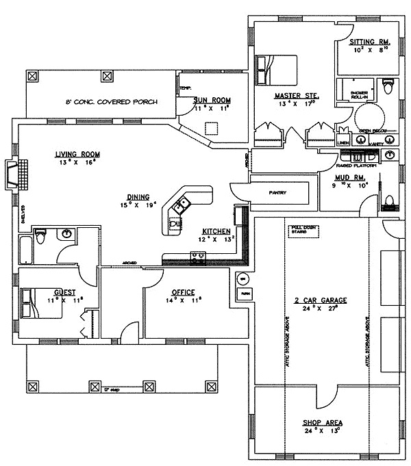 icf house plan home plans pinterest