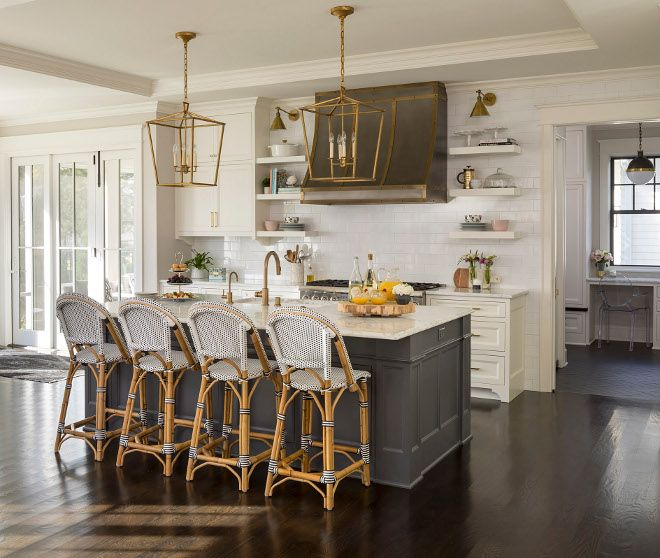 Charcoal Kitchen Island Best Paint Colors For Charcoal Kitchen