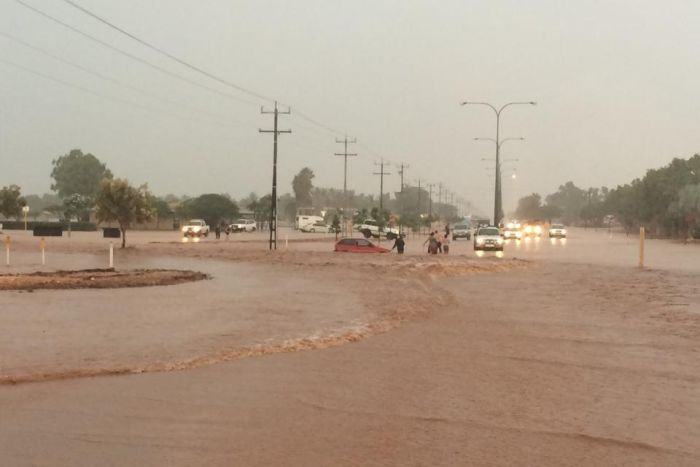 Floods at Exmouth, Western Australia