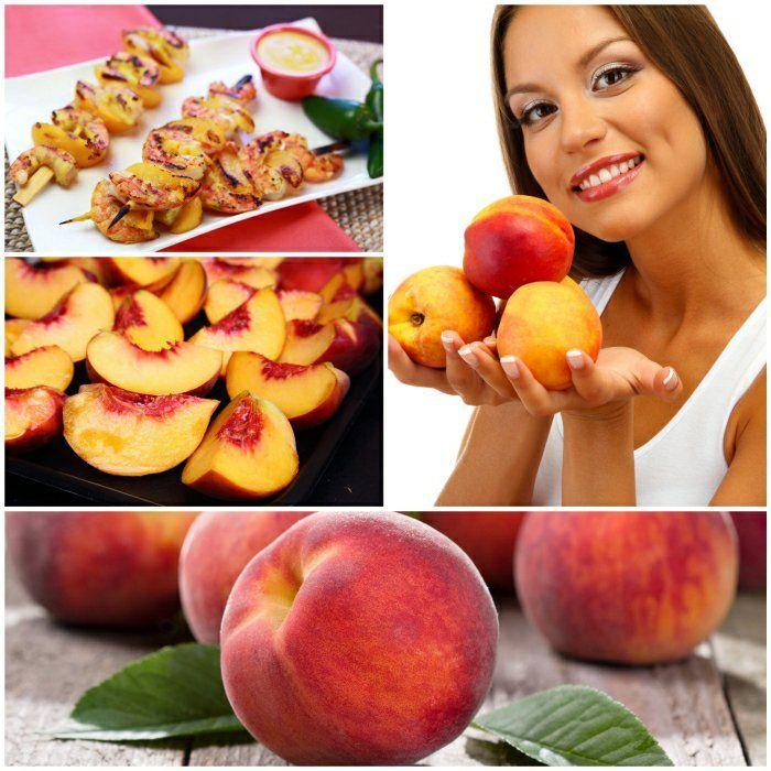 pfirsich gesund vitaminreiches  obst gesundes essen