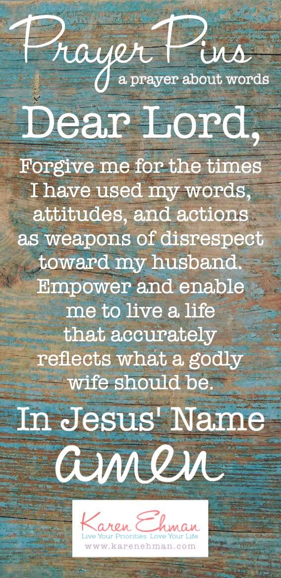 Ephesians 5:33 || Prayer Pins by Karen Ehman