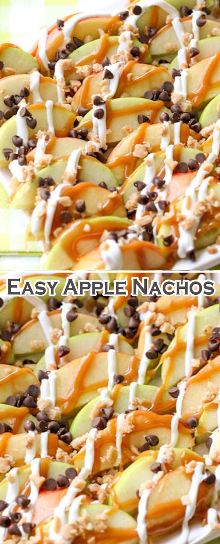 Easy Apple Nachos