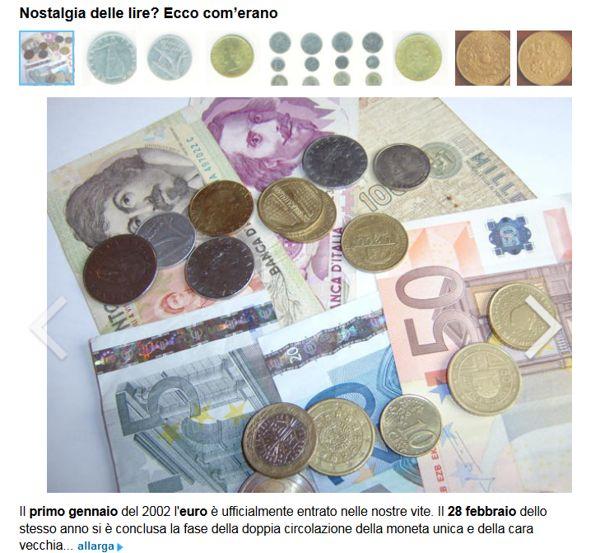 Cambio Lira-Euro, probabile la moratoria - Yahoo Finanza Italia