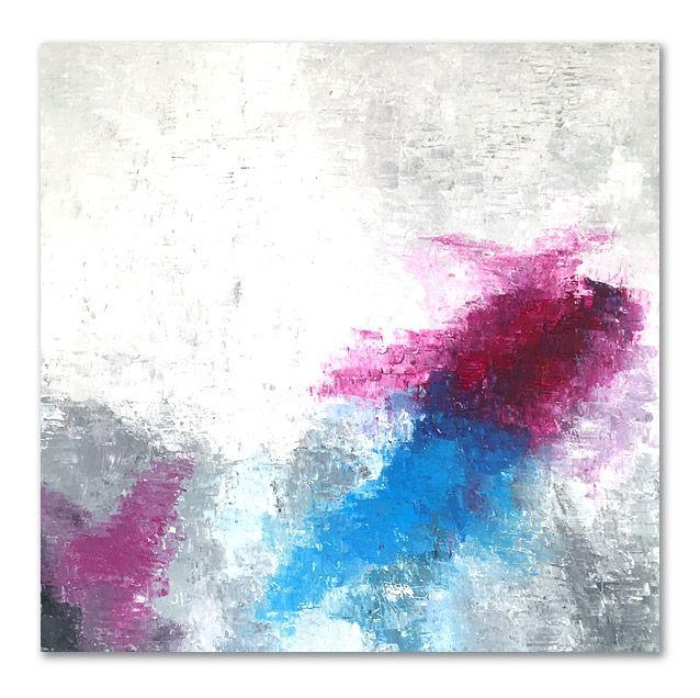 """""""Haze 1605"""" 80x80cm by Stellan Kristiansson"""