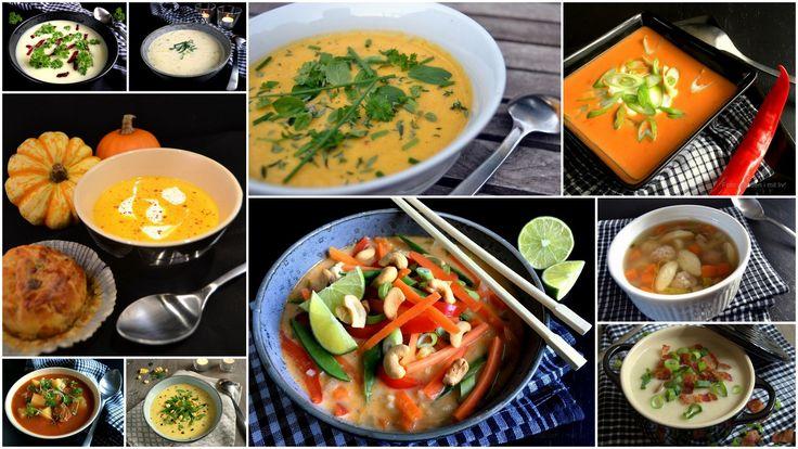 Suppeopskrifter - alle mine bedste supper. Mere end 20 opskrifter på massevis af forskellige supper med og uden kød. Perfekt til efterår og vinter.