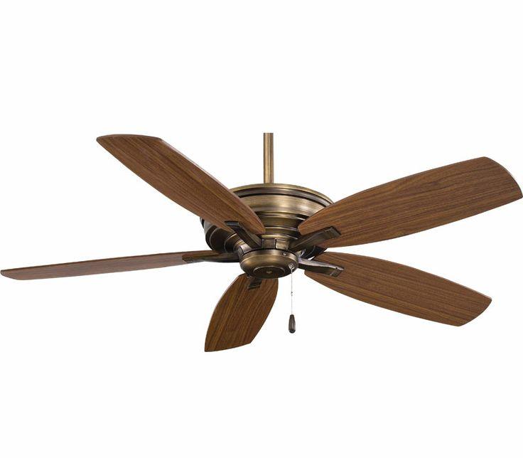 Ceiling Fan Images Minka Aire F695 Cc Kafe 52 Inch Cognac